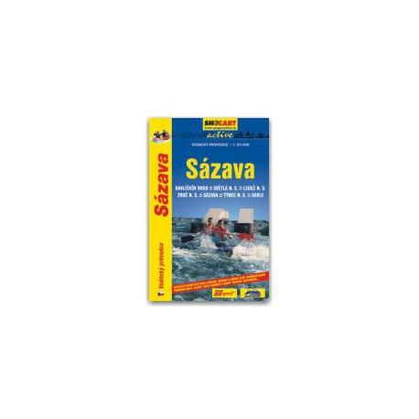 Shocart Sázava vodácký průvodce
