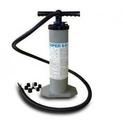 Super 6 ruční dvojčinná pumpa