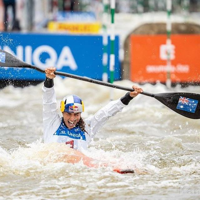 Big congratulation to @jessfox94 - the 2019 World Cup Series Winner in K1W. 🔥🔥🔥 📷 Jan Homolka for @czechcanoe
