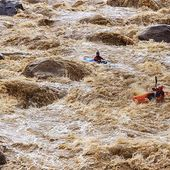 Mud slide. 📷@zet_kayaks . . . . #inwaterwelive #weareoutthere #whitewater #kayakecuador #mudriver #mudslide