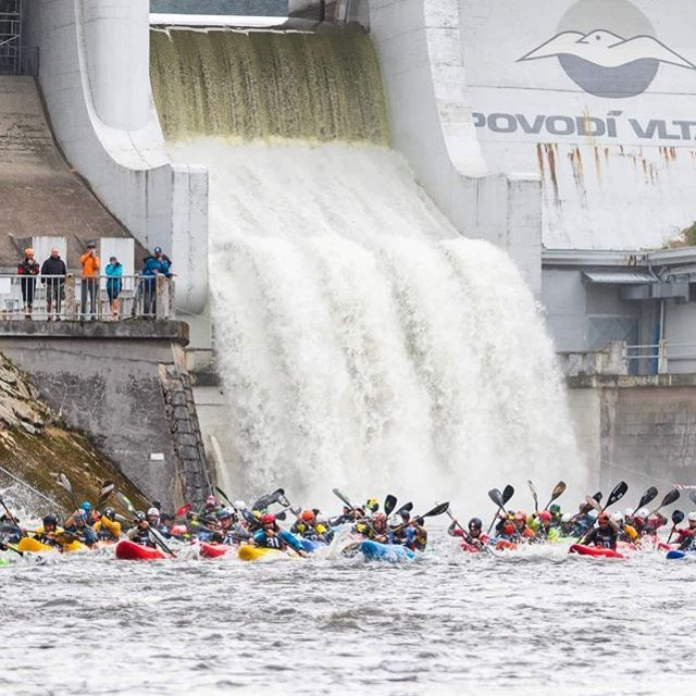 @devilsextremerace in Lipno starts next weekend and we are stoked to be part of it! 😈 #inwaterwelive . . . . . #weareoutthere #whitewater #whitewaterkayaking #kayakracing #vltava
