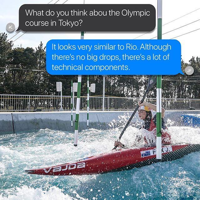 Tokyo feedback. . . . . . 📸 Rebekka Anton, Martin Thomas, Martin Hladik  #inwaterwelive #canoeslalom #planetcanoe #weareoutthere