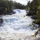 @honza_havelka_ on Aurdola, Norway. . . . . #inwaterwelive #weareoutthere #whitewater #kayaknorway