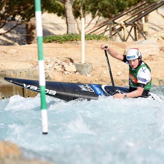 Short Mamba season is over and qualifying season just around the corner. 📷 @alena.ceplova . . . . #inwaterwelive #weareoutthere #uae🇦🇪 #blackmamba #wintercamp  #canoeslalom #planetcanoe