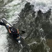 Ondra Tunka switched waters of Kaituna for the slalom course in Penrith. . . . . . . #inwaterwelive #weareoutthere #canoeslalom #planetcanoe #australia #penrith