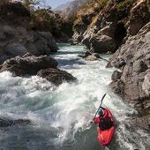 @bouzino in Himalaya. . . . . . . . #inwaterwelive #weareoutthere #nepal #thulibheri #whitewaterkayaking #whitewater #kayaklife #dolponepal