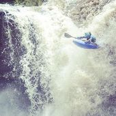 This is what it can look like... 📸@zet_kayaks . . . . #inwaterwelive #weareoutthere #touchyourtoes #boof #waterfall #kayaking #whitewater #shotworthtaking #paddling