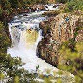 Find a river. Do your thing. 📸 @zet_kayaks . . . . . . . #inwaterwelive #weareoutthere #kayaking #southafrica #whitewaterkayaking #kayaking #paddling