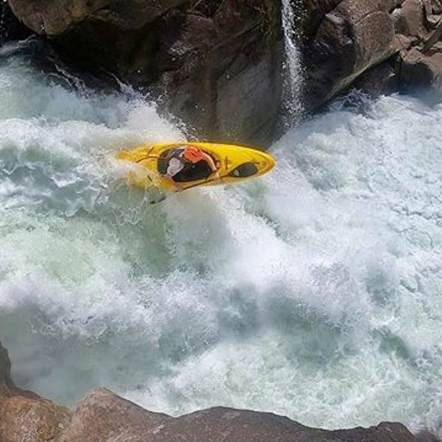 George's first descent of Mcleran Falls🙅♂️ How do you get ready for the slalom season?