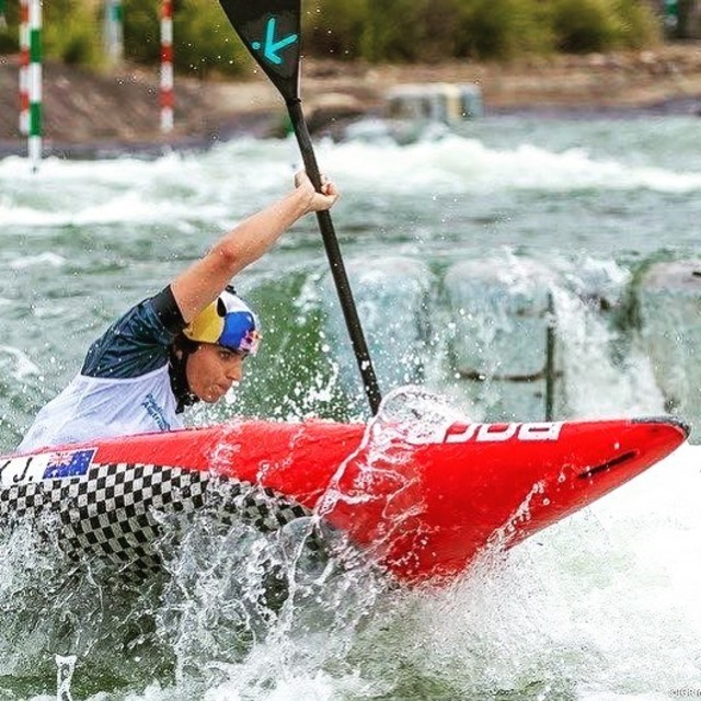 First race of 2020 - Australian Nationals. Jess has her seat for Tokyo secured already but who is going to join her under the 🇦🇺? . . . . . 📷 @jgrimages  #canoeicf #canoeslalom #roadtotokyo #australiannationals #inwaterwelive #weareoutthere