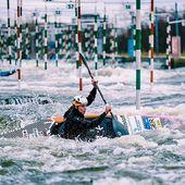 Winter prep in Troja has paid off for Ricarda. Congrats on winning the Australian Open!👏👍 . . . . . #inwaterwelive #icfslalom #canoeslalom #planetcanoe #weareoutthere #kayaking #australianopen #paddling #penrith #troja