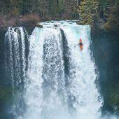 🙈🥽🙉 photo: @calebwallace . . . . . #inwaterwelive #weareoutthere #kayaking #waterfalls #whitewater #paddling #washington